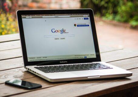 google search engine on macbook pro